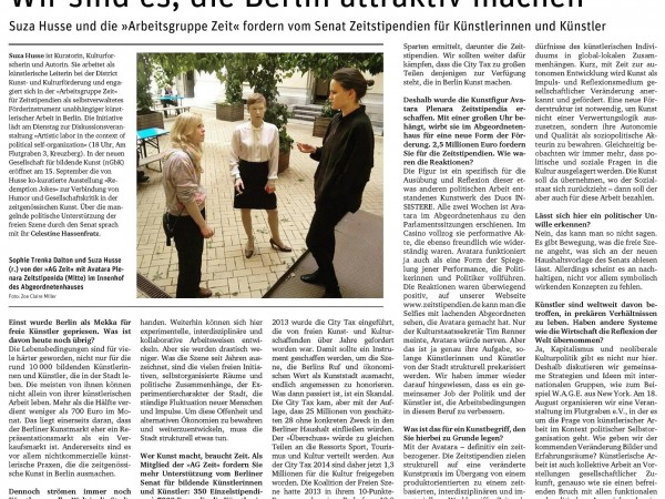 Neues Deutschland Zeitstipendien-